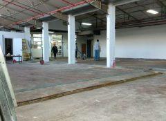 לפני שיקום רצפה וציפוי אפוקסי במפעל
