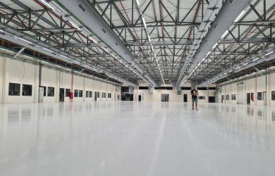 ציפוי אפוקסי למפעל מיטרוניקס